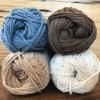 NASHVILLE - Off White/Jute/Warm Brown/Blue Jeans