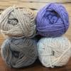 SAVANNAH - Off White/Jute/Overcast Grey/Soft Purple