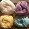 SPRING - Robin's Egg/Yellow/Lavender/White